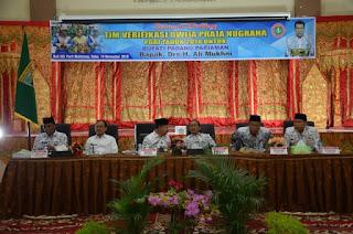 Ketua DPP PGRI Pusat : Bupati Ali Mukhni Layak Raih Penghargaan Dwija Praja Nugraha