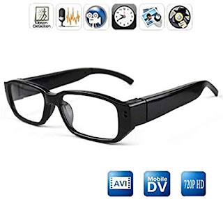 Cheval Eye Glasses Hidden Spy Camera