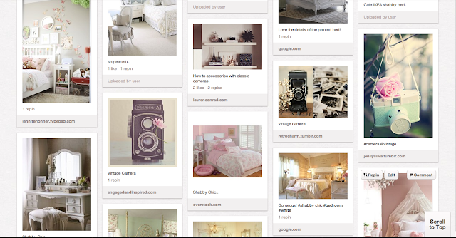 Shabby Chic Pinterest board.