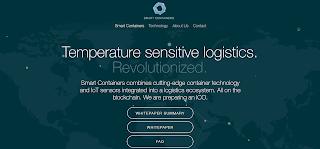 مشروع Smart Containers توسيع نطاق الأعمال اللوجستية الجارية