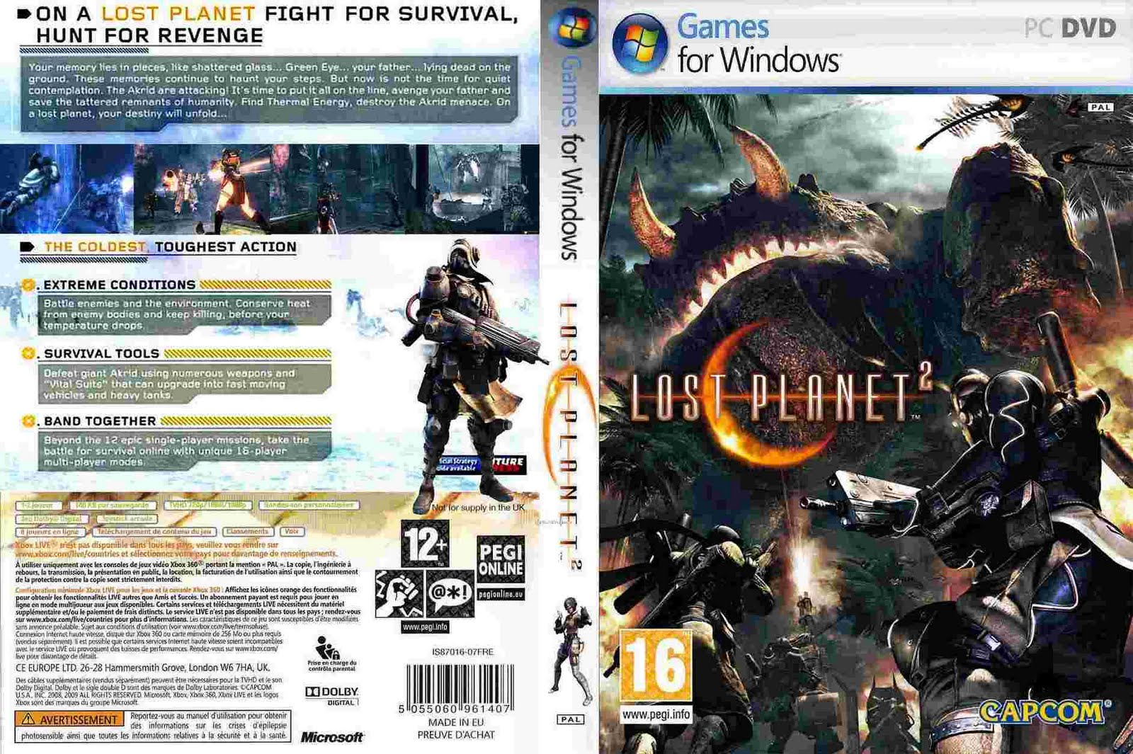 Lost Planet 2 Anaqin Game S