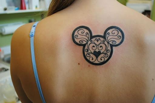 Magico Mouse Para Tras Tattoos