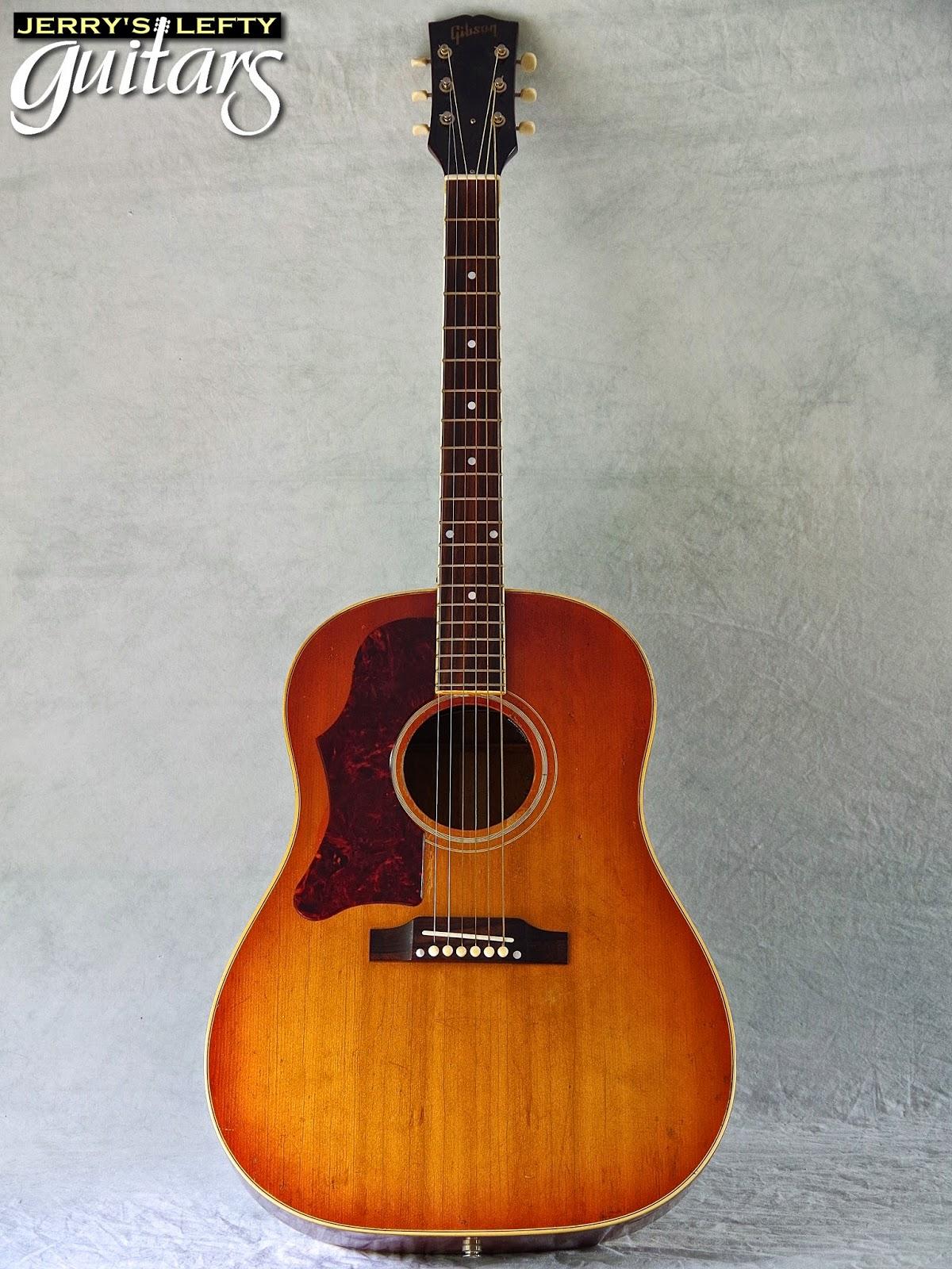 jerry 39 s lefty guitars newest guitar arrivals updated weekly 1965 gibson j45 left handed. Black Bedroom Furniture Sets. Home Design Ideas