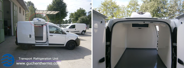 Guchen Thermo TR-110D refrigeration units for vans for sale