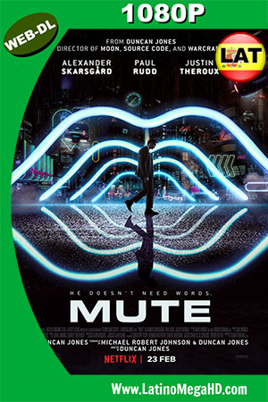 Mute: Mudo (2018) Latino HD WEB-DL 1080P ()