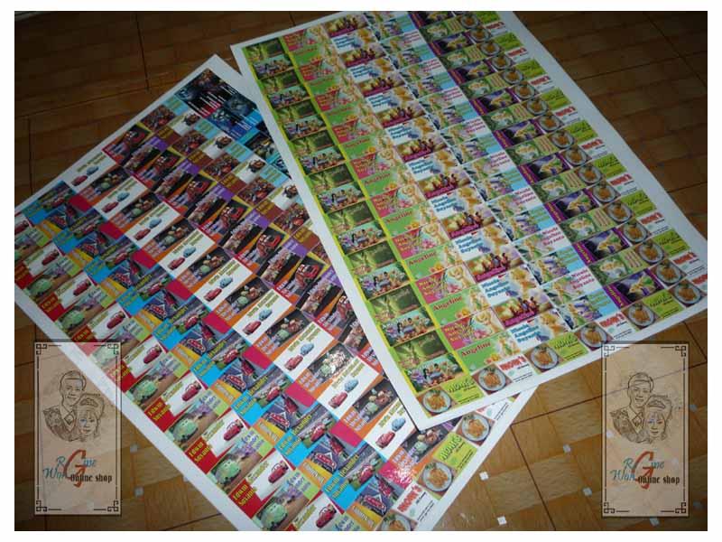 Sticker Labelku Sticker Hasil Cetak