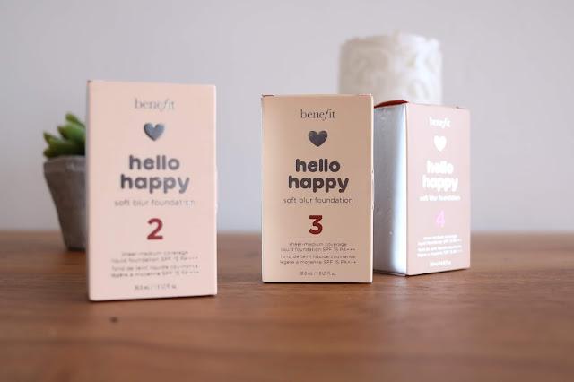 """Hello Happy : que vaut le nouveau fond de teint de Bénéfit """""""