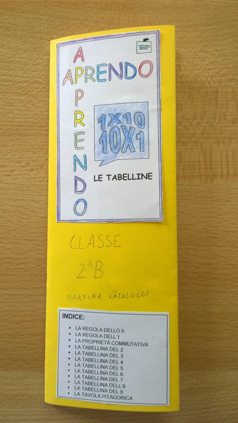 Scuola primaria s pertini lapbook tabelline - La tavola pitagorica da stampare ...