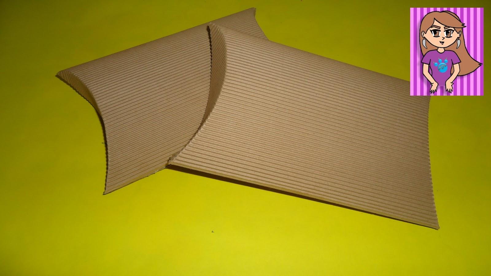 Pumitanegraart Caja Ovalada De Cartón Corrugado