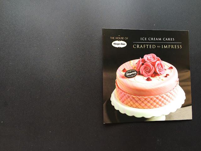 Cool Haagen Dazs Malaysia Cake Catalogue Personalised Birthday Cards Akebfashionlily Jamesorg