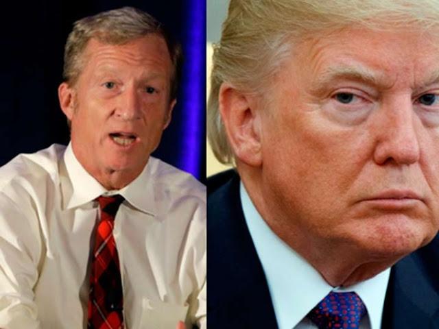 Trump llama 'desquiciado' a multimillonario que busca destituirlo