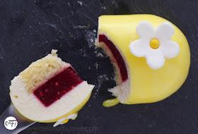 Le Yellow de Christophe Felder (entremets citron fraise)