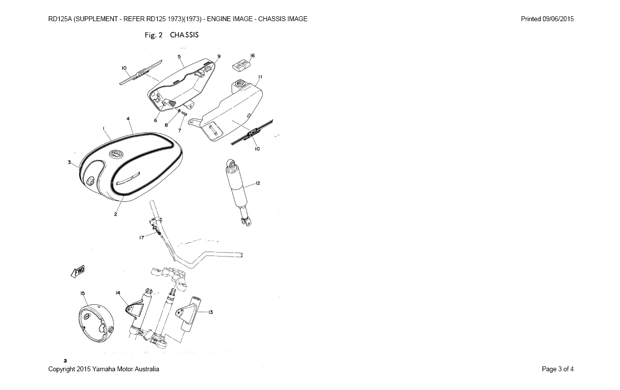 1975 Yamaha 125 Ignition Wiring Diagram As3 Master Blogs Restoration Rd125 A November 2015 Rh Blogspot Com Tachometer