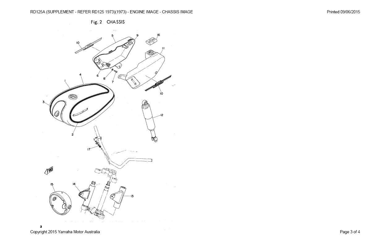 1973 yamaha rd 350 wiring diagram