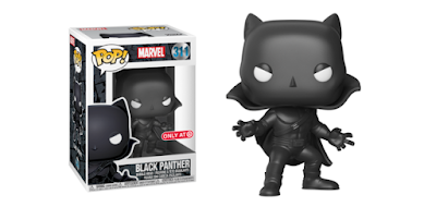 Target Exclusive Black Panther Comic Book Edition Pop! Marvel Vinyl Figure by Funko