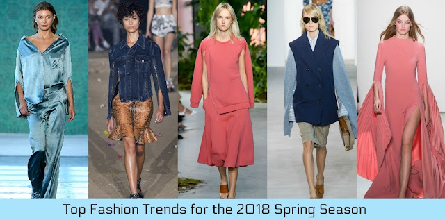 Top Fashion Trends for the 2018 Spring Season