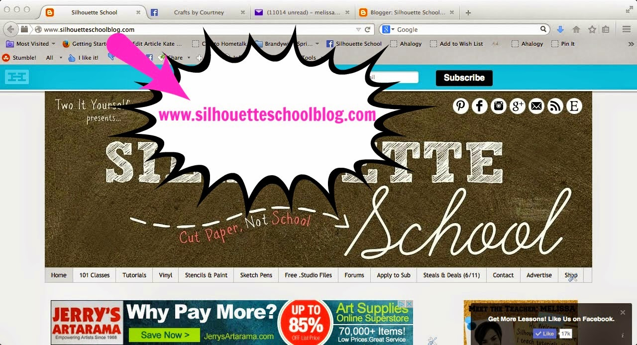 Silhouette School Blog