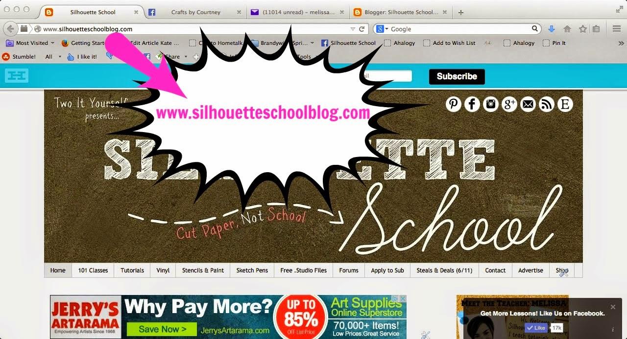 Silhouette School Blog