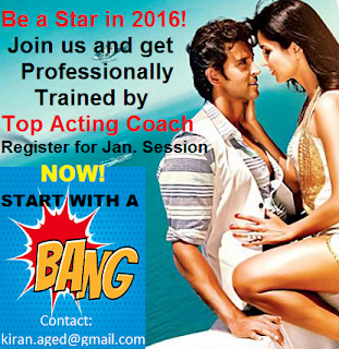 "India's only ""One on One"" acting coaching program"