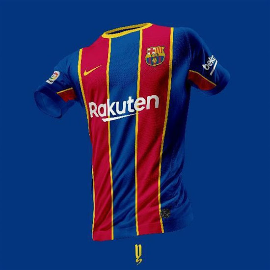 12+ Fc Barcelona Jersey 20/21