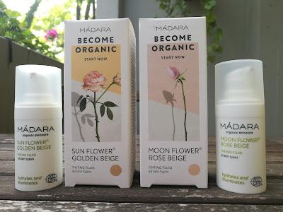 MÁDARA - Tinting Fluid - Crema colorata - Sun Flower - Moon Flower