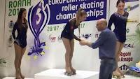 PATINAJE ARTÍSTICO SOBRE RUEDAS - Doblete español en el Campeonato de Europa con Mónica Gimeno y Pere Marsinyach