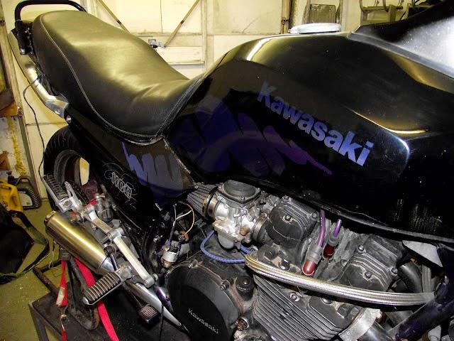 Mercenary Garage - Kawasaki GPZ1100 Square Eyed Git