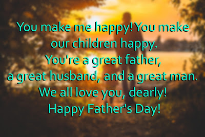 Fathers Day Messages & Wishes From Wife To Husband