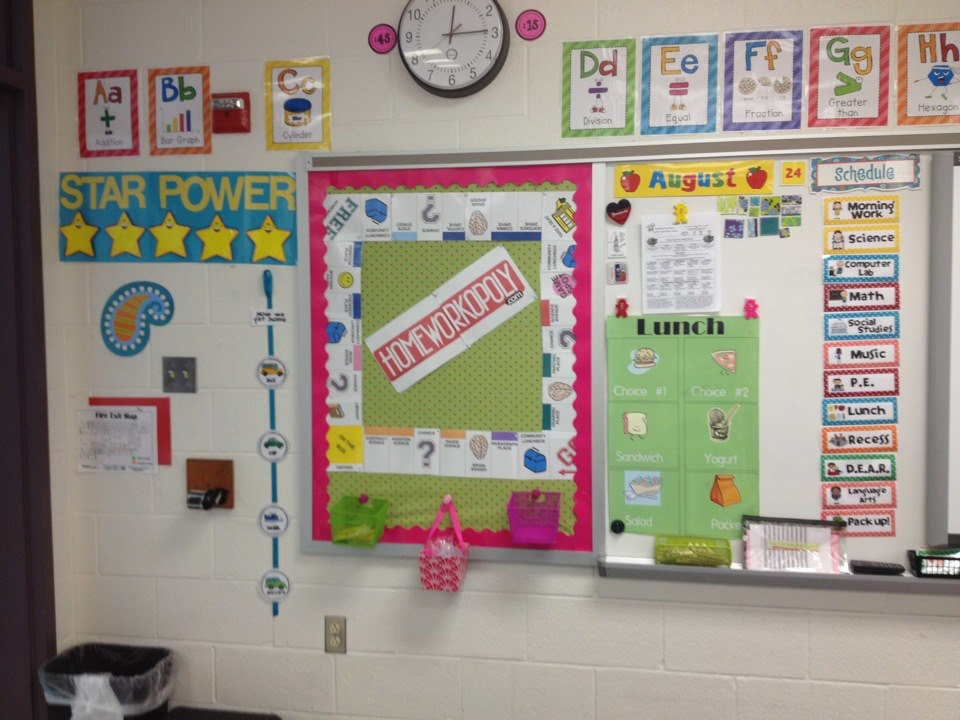 classroom schedule cards - Apmayssconstruction