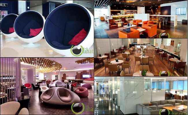 6 Lounge Bandara yang paling Nyaman dan Menakjubkan di Dunia