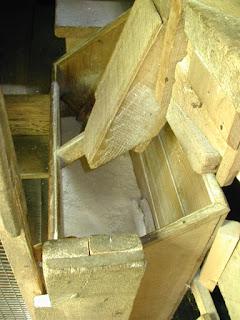 The mill's flour box.