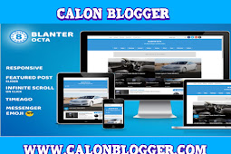 Download Blanter Octa Responsive Template Blogger