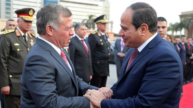 No concessions on future Palestinian state: Jordan, Egypt