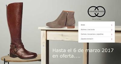 Botas y zapatos para mujer de la marca Osmose en oferta