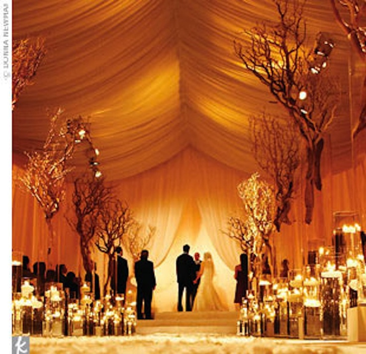 How to Plan a Candlelight Wedding Ceremony