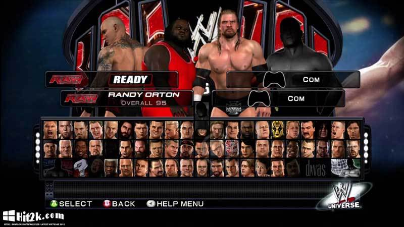 WWE Smack Down Vs Raw 2011PC Games [ Free Download ]