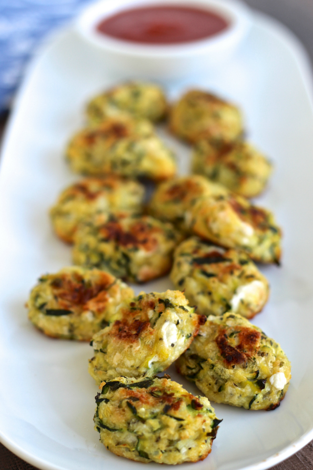 Zucchini Tots | The Foodie Physician