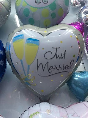 Balon Foil Just Married