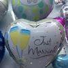 Balon Foil JUST MARRIED