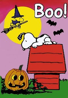 Bloody Pit of Rod: Happy October from Snoopy!
