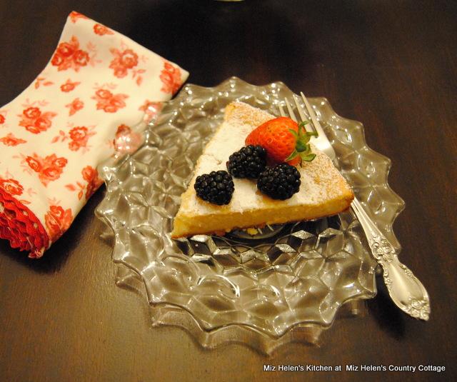 Italian Ricotta Cake at Miz Helen's Country Cottage