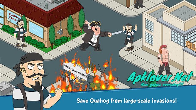 Family Guy The Quest for Stuff MOD APK unlimited money