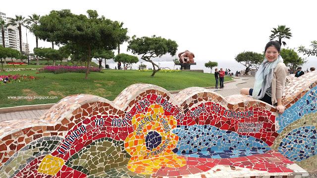 El Parque del Amor or Love Park, Miraflores, Lima, Peru