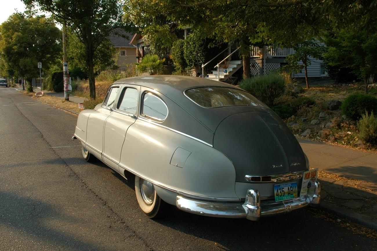 Nash Car: OLD PARKED CARS.: 1950 Nash Airflyte Statesman