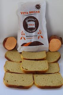 Carl Sweet Food #Rwanda makes pastries from sweet potatoes