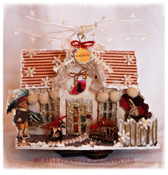 Paper Profusion: Cosy Christmas Cottage