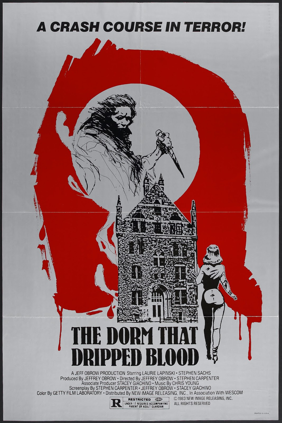 2,500 Movies Challenge: #284  The Dorm That Dripped Blood (1982)