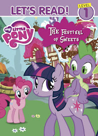 MLP The Festival of Sweets Book Media