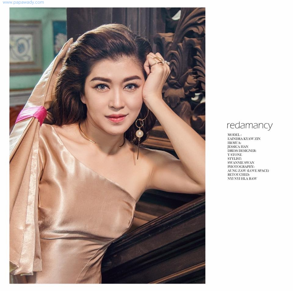 Redamancy - Eaindra Kyaw Zin Amazing Fashion Photoshoot by Love Space Studio