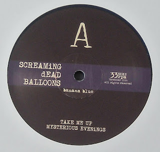 SCREAMING DEAD BALLOONS - (2015) Banana Blue_side a